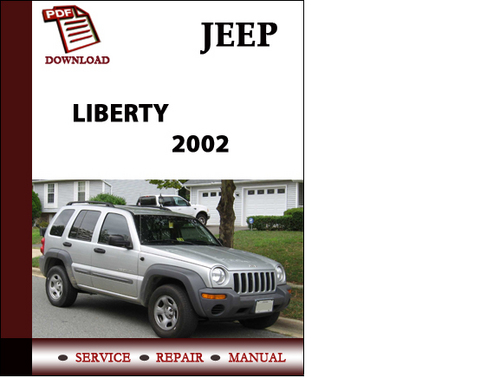 jeep liberty 2002 workshop service repair manual pdf. Black Bedroom Furniture Sets. Home Design Ideas