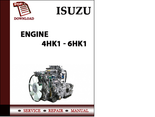 isuzu engine 4hk1 6hk1 workshop service repair manual pdf downloa rh tradebit com