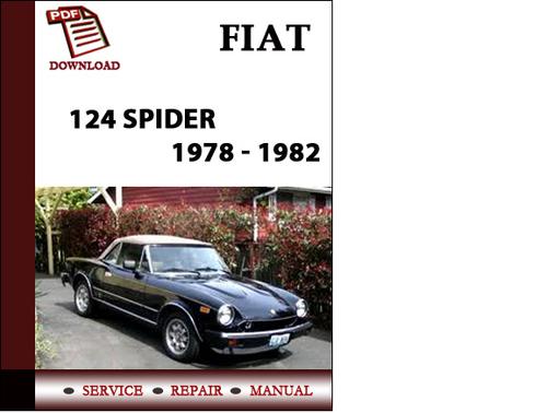 Fiat 124 Spider 1978