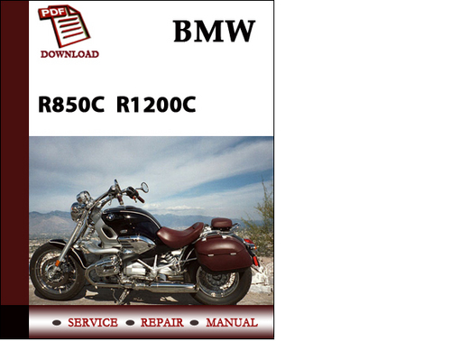 bmw r850c r1200c workshop service manual repair manual download d rh tradebit com 1998 bmw r1200c service manual r1200c service manual pdf
