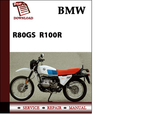 bmw r100 repair manual pdf