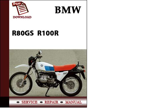 bmw r80gs r100r workshop service manual repair manual. Black Bedroom Furniture Sets. Home Design Ideas