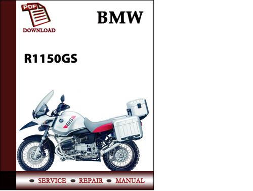 Bmw R1150gs Workshop Service Manual Repair Manual Download Downlo