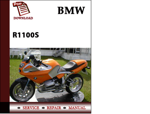 download service repair manual bmw r1100s 1999 2005