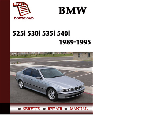 bmw 5 series 525i 530i 535i 540i 1989 1990 1991 1992 1993. Black Bedroom Furniture Sets. Home Design Ideas