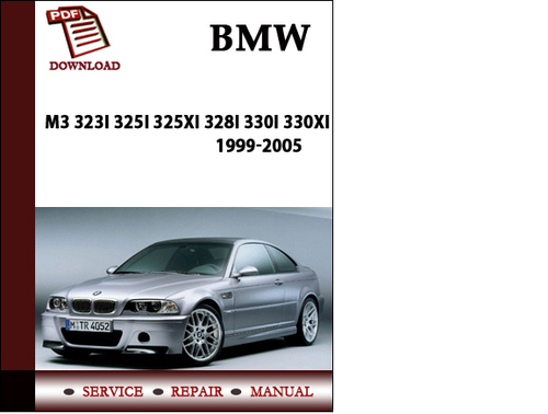 Bmw 3 Series M3 323i 325i 325xi 328i 330i 330xi 1999