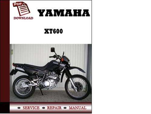 Yamaha xt 600 manual.
