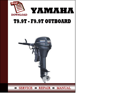Yamaha t9 9t f9 9t outboard workshop service repair for Yamaha outboard service