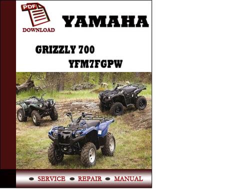 Yamaha grizzly 700 инструкция