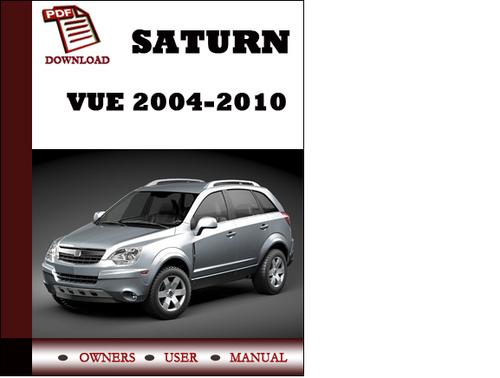 service manual  2007 saturn vue owners manual pdf