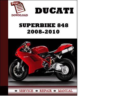 ducati superbike 848 2008 2009 2010 workshop service. Black Bedroom Furniture Sets. Home Design Ideas