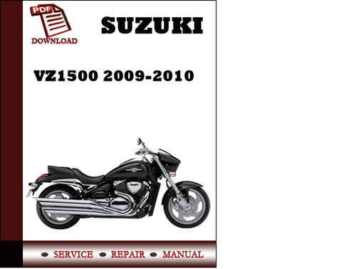 suzuki vz1500 2009 2010 workshop service repair manual pdf download 2003 Suzuki 250 2003 Suzuki 250