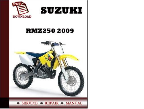suzuki rmz250 2009 workshop service repair manual pdf download do 2006 Suzuki RMZ 250 Specs 2006 Suzuki RMZ 250 Specs