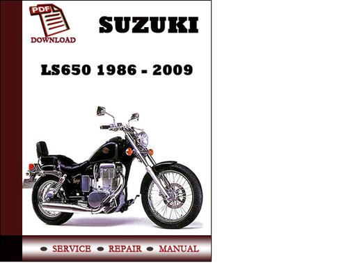 Suzuki Ls650 Workshop Service Repair Manual Pdf Download