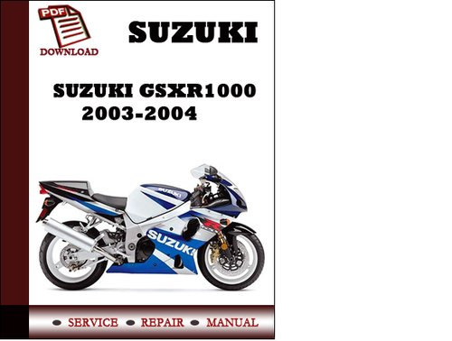 Gsxr 1000 manual ebook gsxr array suzuki gsxr 1000 2003 2004 workshop service repair manual pdf downl rh tradebit com fandeluxe Choice Image