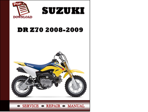 suzuki dr 100 service manual pdf