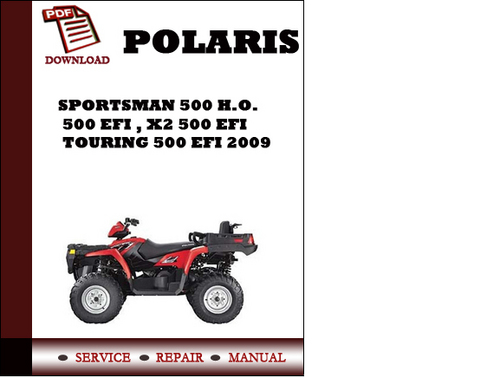 polaris sportsman 500 h o 500 efi x2 500 efi. Black Bedroom Furniture Sets. Home Design Ideas