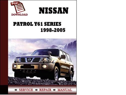 nissan patrol service repair manual download pdf