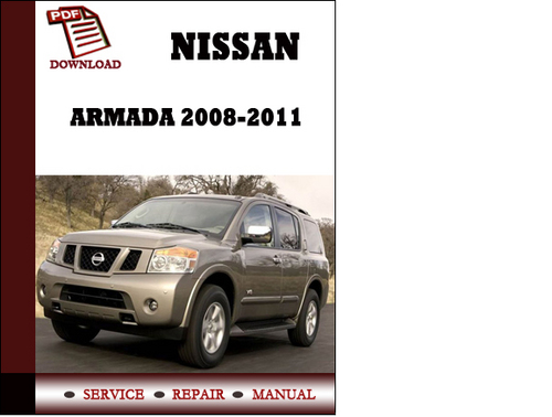 repair manual 2005 nissan armada free nissan armada. Black Bedroom Furniture Sets. Home Design Ideas