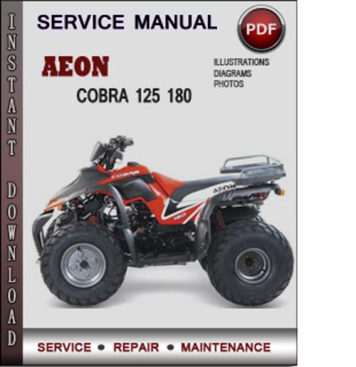 aeon cobra 125 180 aeon cobra 125 180 factory service repair manual rh tradebit com aeon cobra 50cc manual aeon cobra 50cc service manual
