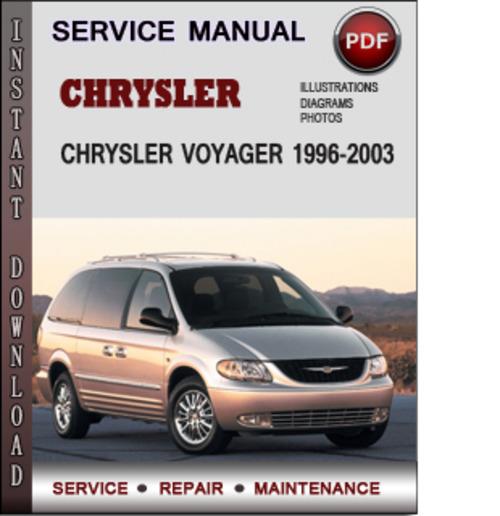 Chrysler Voyager 1996-2003 Factory Service Repair Manual