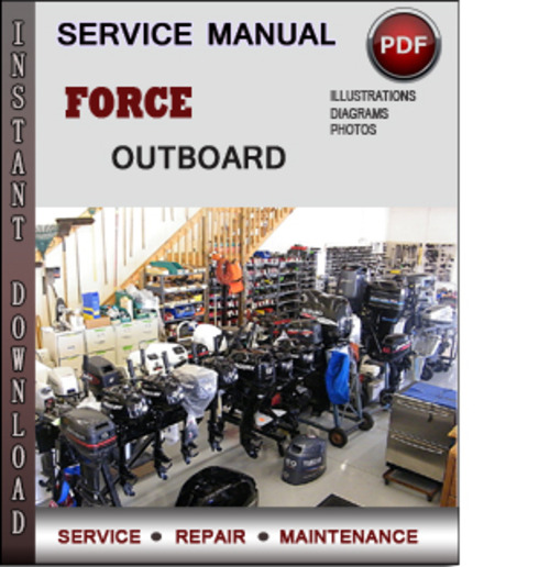 force outboard 50 hp 50hp 2 cyl 2 stroke 1984 1999 factory service rh tradebit com force outboard manual download force outboard manual pdf