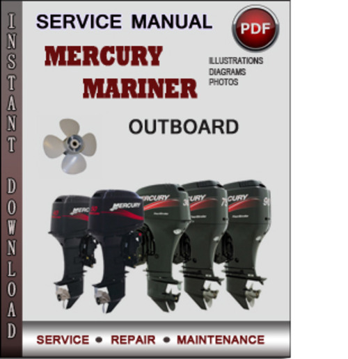 mercury mariner outboard 240 efi jet drive 2001 2008 factory servic rh tradebit com 2007 Mercury Mariner Problems 2008 Mercury Mariner Interior