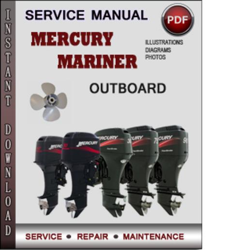 mercury mariner outboard stroke factory service repair manual