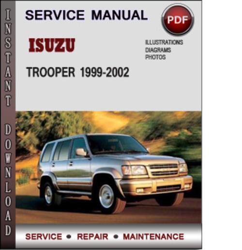 Isuzu 1999 RODEO Workshop Manual