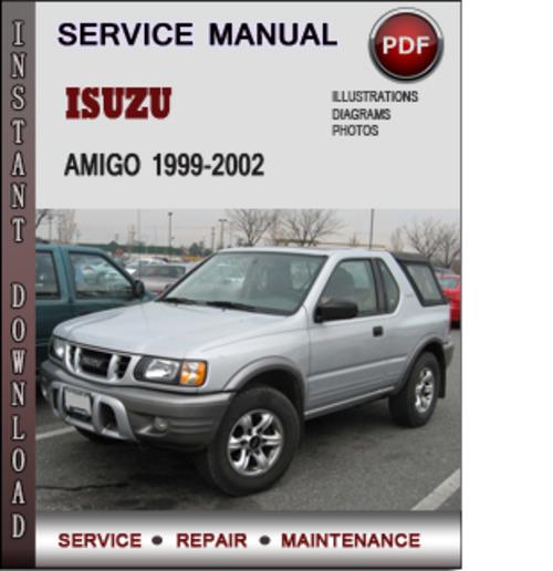 1999 Isuzu Amigo Suspension: Isuzu Amigo 1999-2002 Factory Service Repair Manual