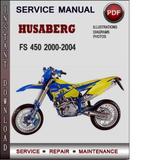 husaberg fs 450 2000 2004 factory service repair manual download pd rh tradebit com Service Manuals Corvette Owners Manual