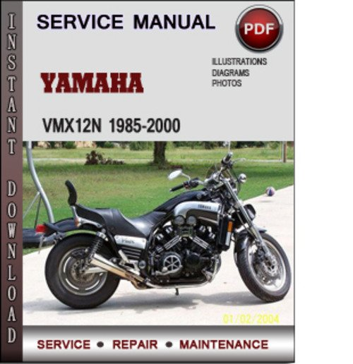 yamaha vmx12n 1985 2000 factory service repair manual. Black Bedroom Furniture Sets. Home Design Ideas