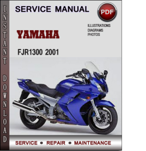 yamaha fjr1300 2001 factory service repair manual download. Black Bedroom Furniture Sets. Home Design Ideas