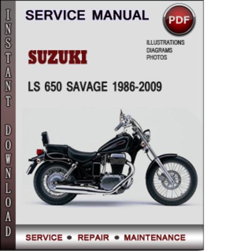 Suzuki Ls 650 Savage 1986