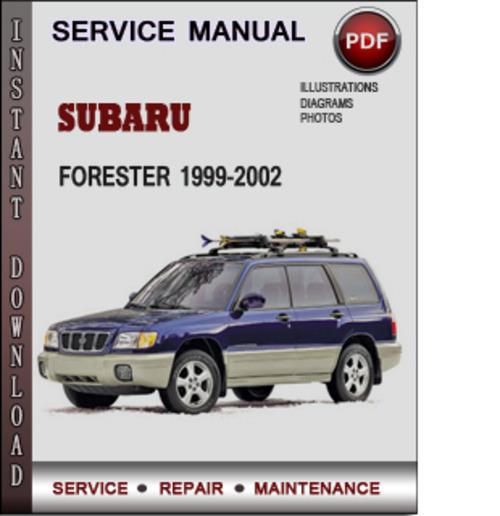 1999 subaru forester owners manual pdf