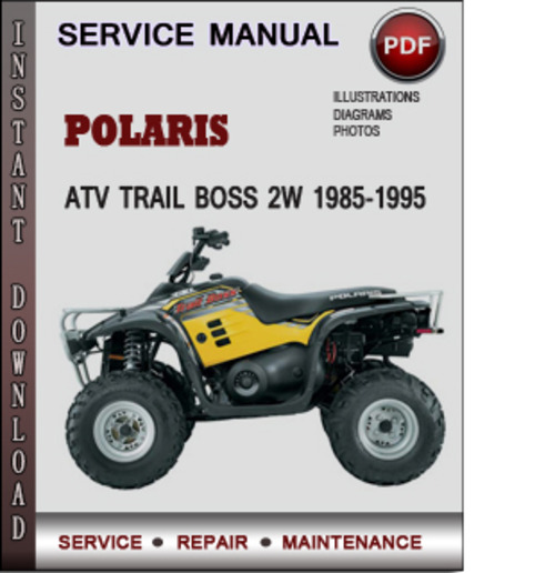 polaris trail boss service manual