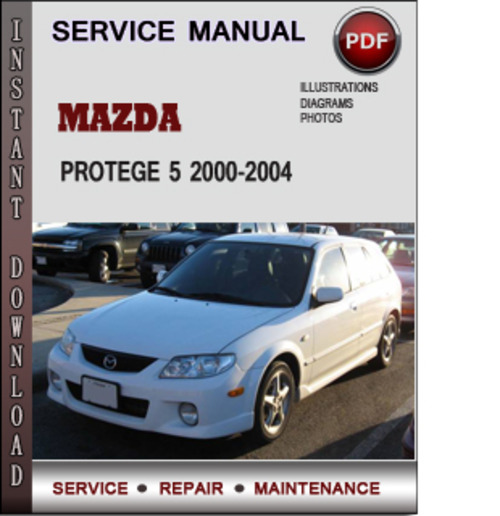mazda protege 5 2000 2004 factory service repair manual. Black Bedroom Furniture Sets. Home Design Ideas