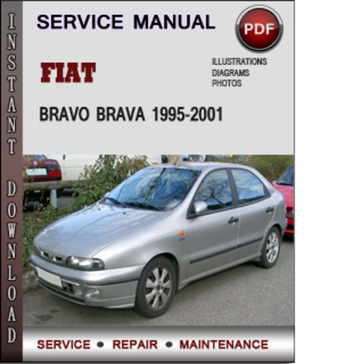 fiat bravo brava 1995 2001 factory service repair manual. Black Bedroom Furniture Sets. Home Design Ideas