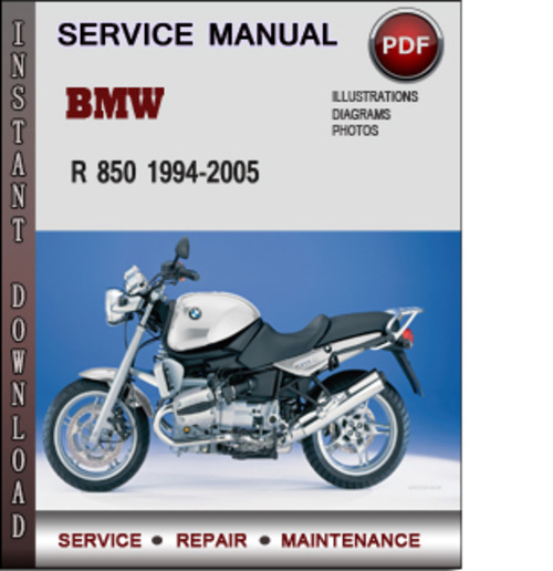 bmw r 850 1994 2005 factory service repair manual download. Black Bedroom Furniture Sets. Home Design Ideas