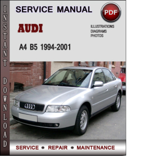 audi a4 b5 1994 2001 factory service repair manual. Black Bedroom Furniture Sets. Home Design Ideas