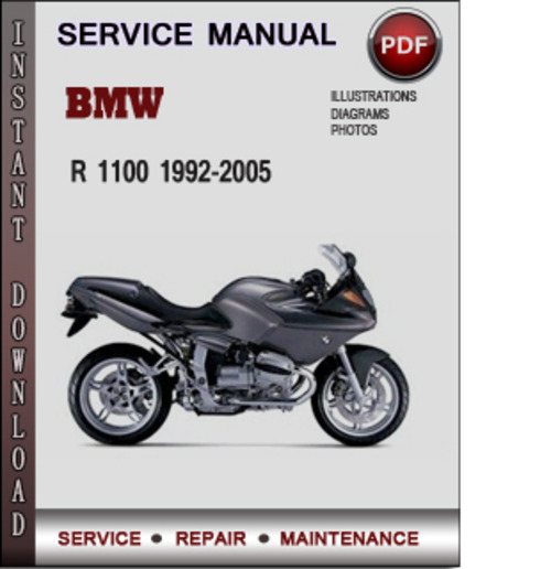 Pay for BMW R 1100 1992-2005 Factory Service Repair Manual PDF