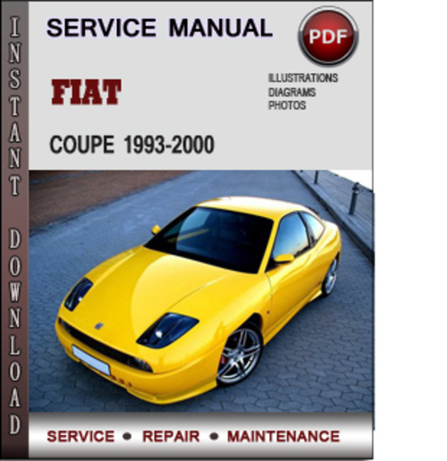 Fiat Coupe Manual