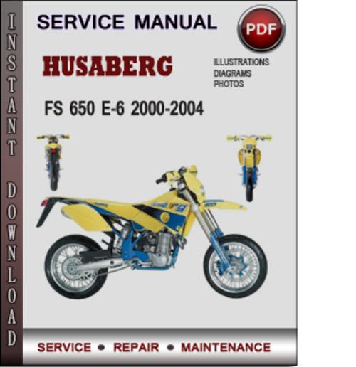husaberg engine 2005 factory service repair manual