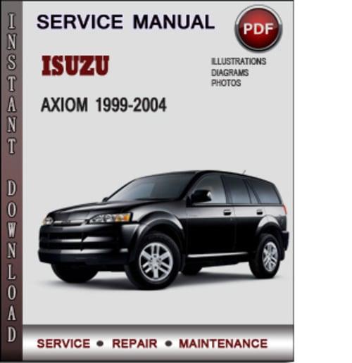manual isuzu axiom 2002