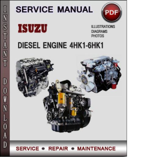 pay for isuzu diesel engine 4hk1 6hk1 factory service repair manual download pdf