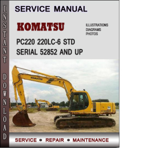 Komatsu Pc220 220lc