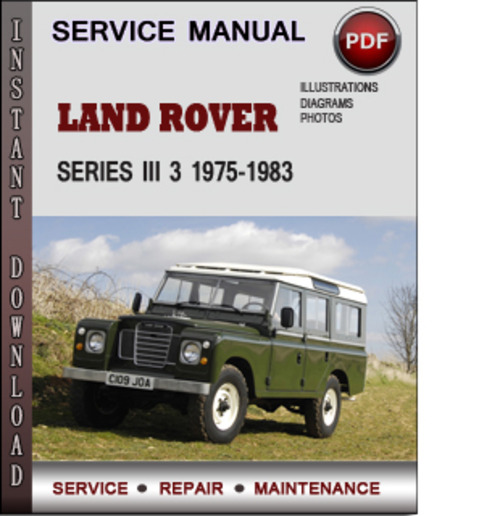 Land Rover Series Iii 3 1975