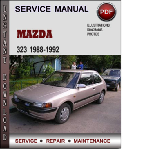 Pay for Mazda 323 1988-1992 Factory Service Repair Manual Download Pdf