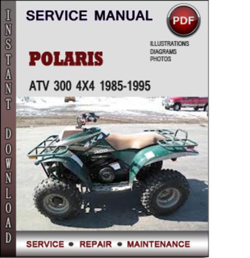polaris atv 300 4x4 1985