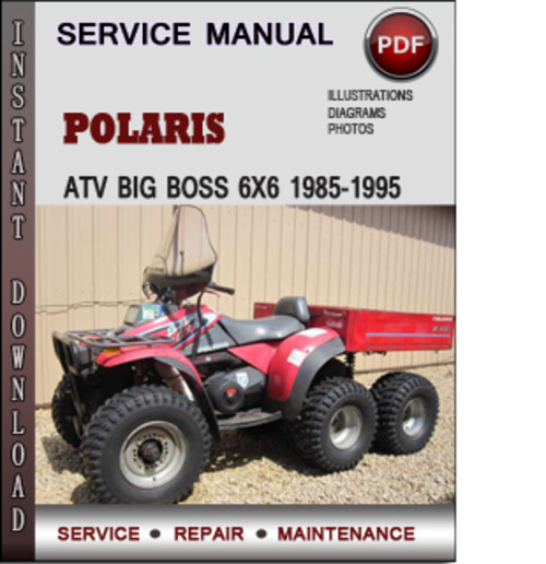 1995 polaris big boss wiring diagram 1995 polaris 400 sportsman wiring schematic polaris atv big boss 500 6x6 1996-1998 factory service ...